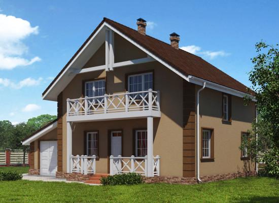 Дом Европейский стиль