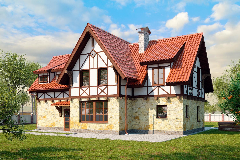Дома в немецком стиле своими руками