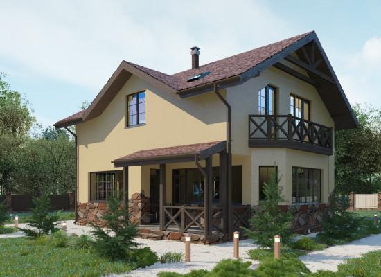 Гостевой дом 9х12